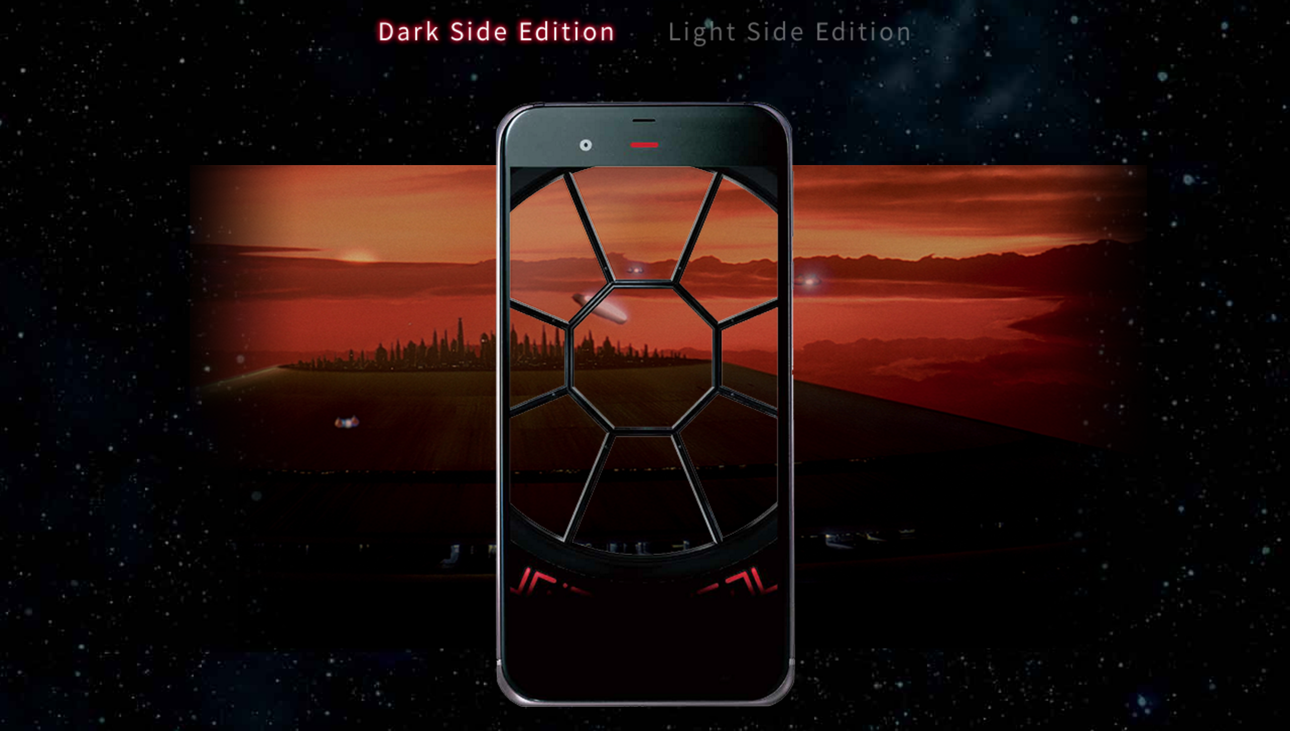 Sharp's extremely Star Wars-themed phone for Japan has