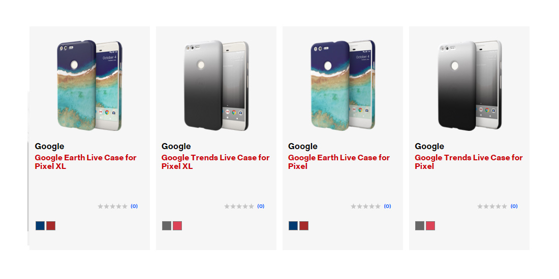 newest d8a2c 33806 Verizon reveals two never before seen Pixel Live Cases, 'Earth' and ...