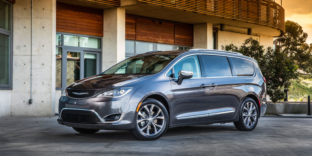 An electric self-driving Chrysler Pacifica is Google's first confirmed partnership