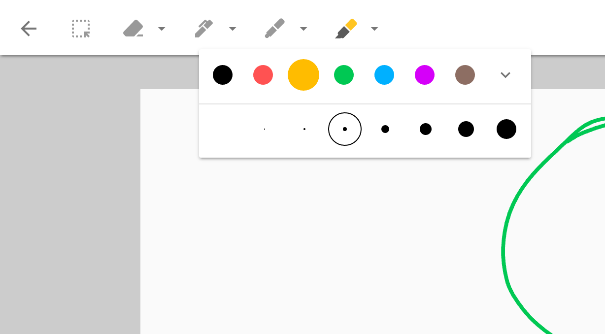 Google Keep's Chrome app adds drawing tools, especially great on