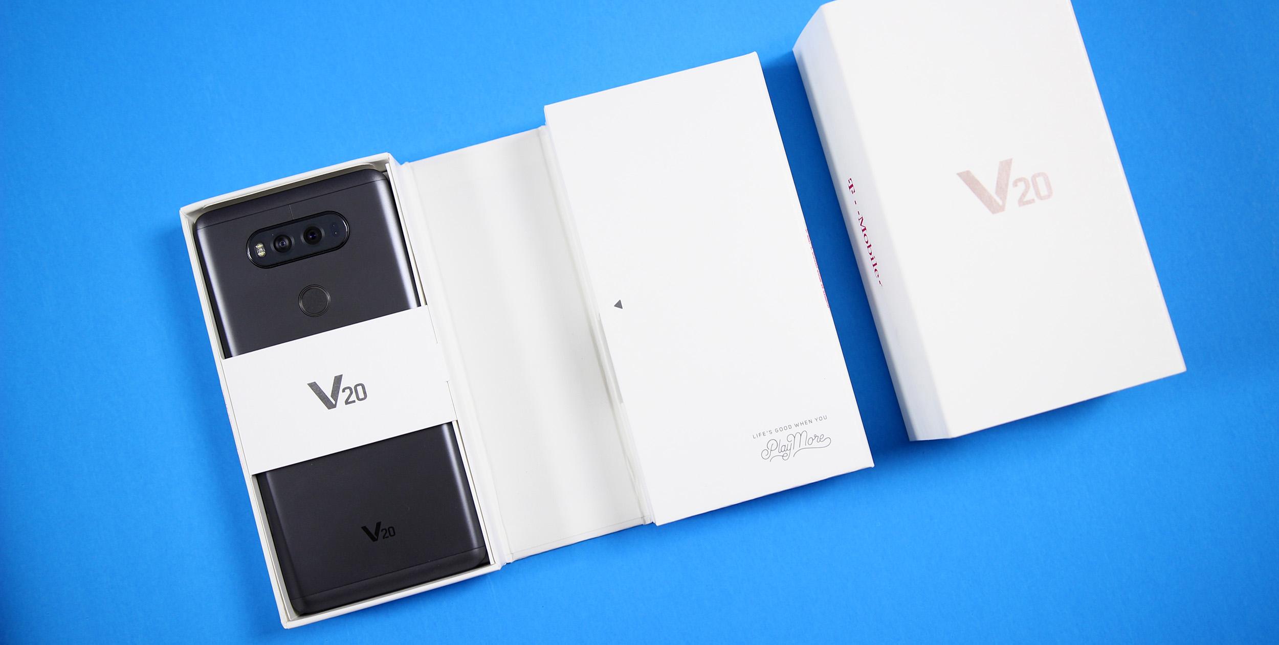 LG V20 Box