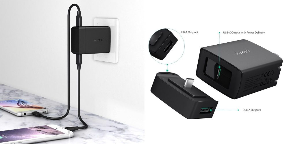 aukey-29w-dual-usb-charger