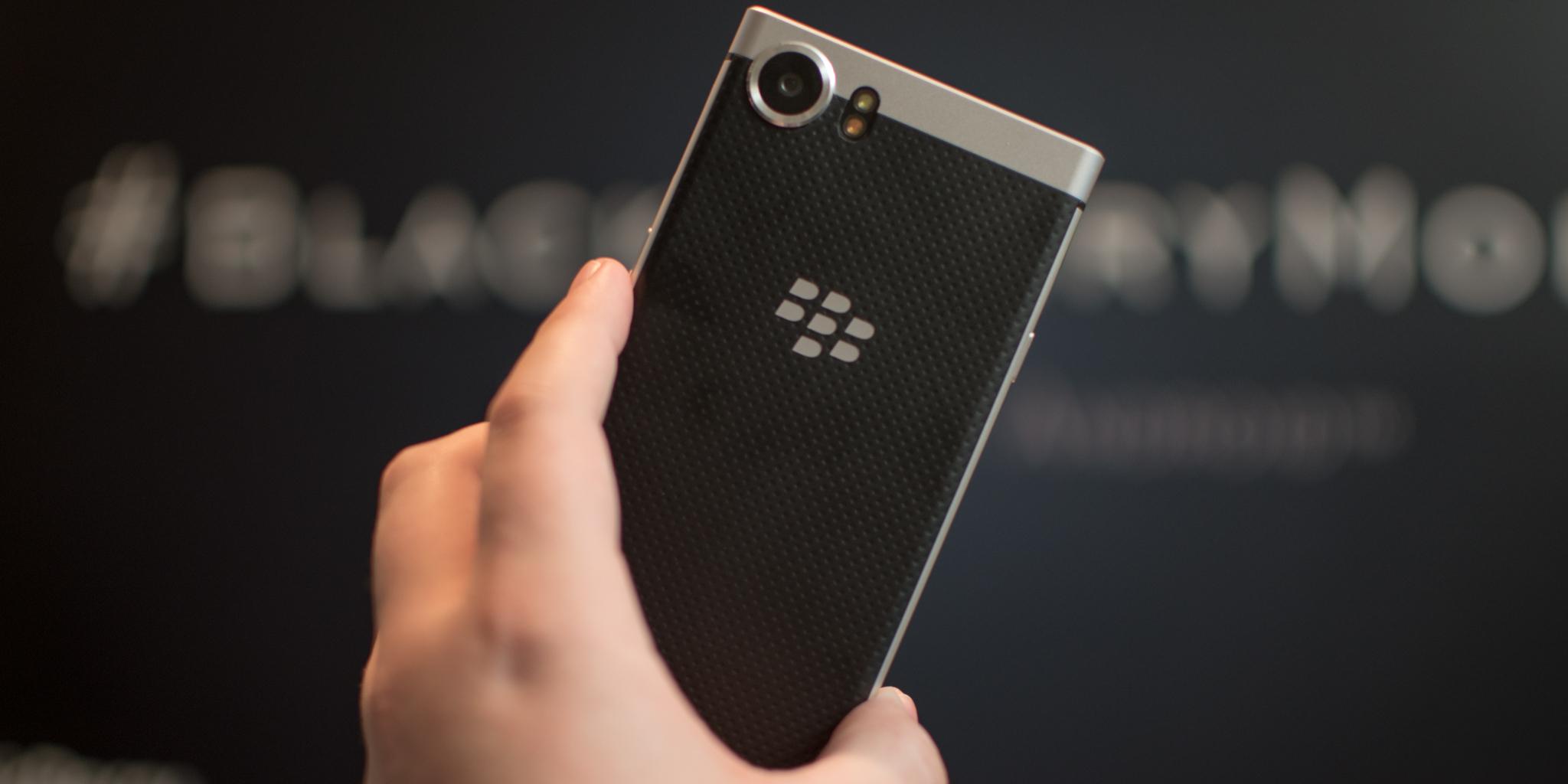 Blackberry Mercury Rear