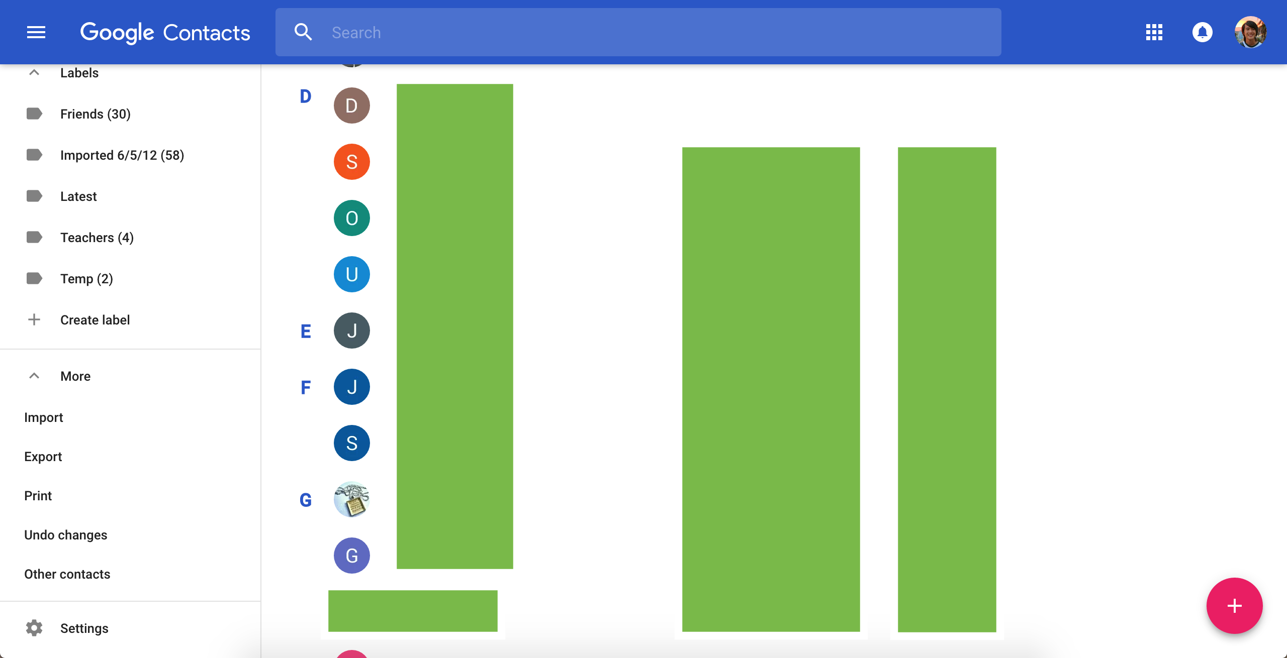 Google Contacts On The Web Gains Material Design Feature Parity With Android App 9to5google