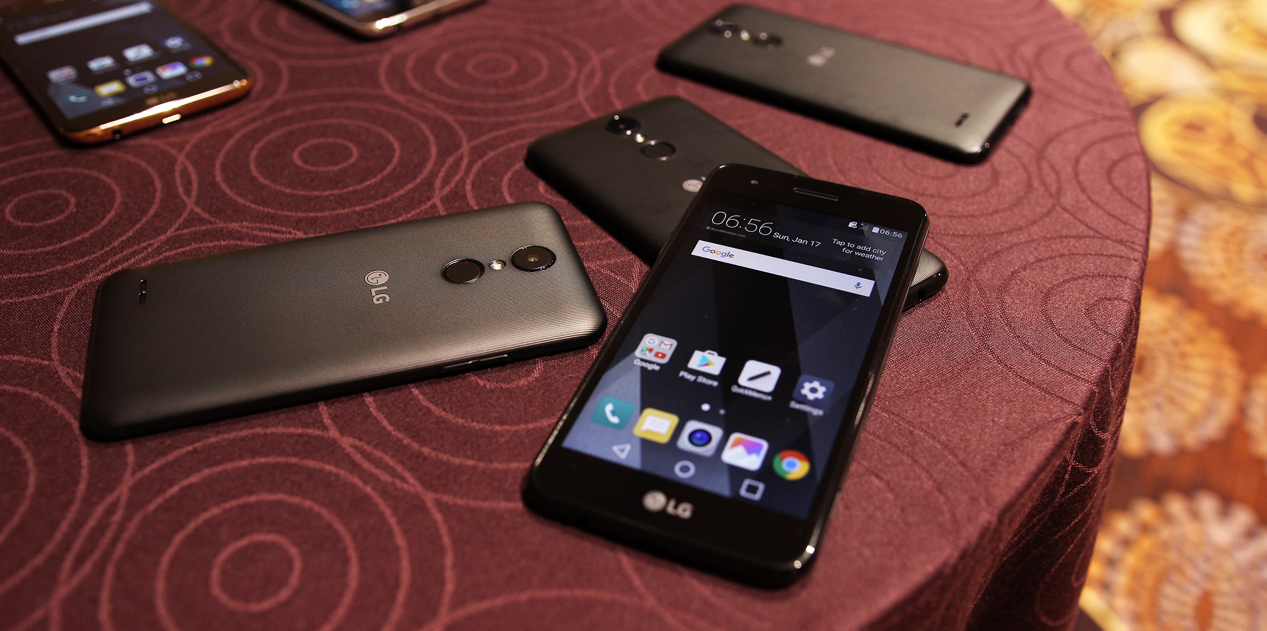 Hands on: LG's 2017 K series and Stylo 3 smartphones pack
