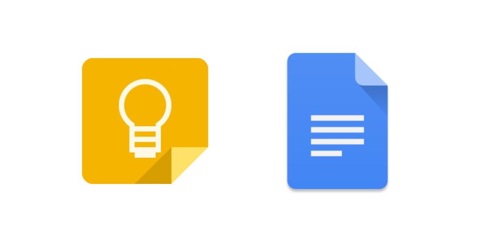 google-keep-docs-integration