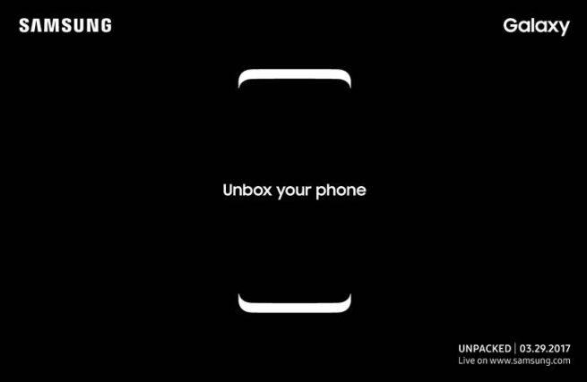 Samsung Galaxy Unpacked Invite