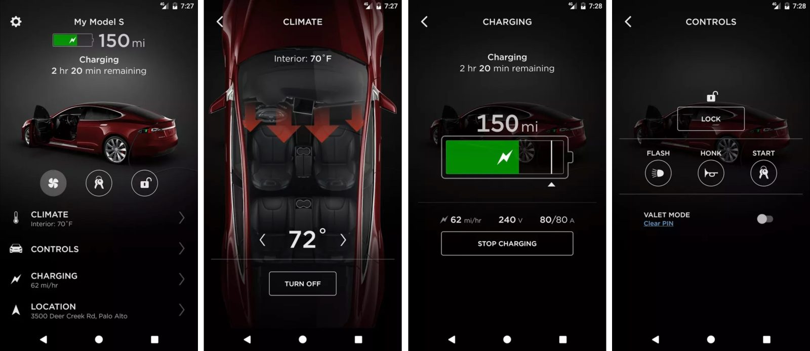 Tesla app disappears from the Google Play Store, will be back soon