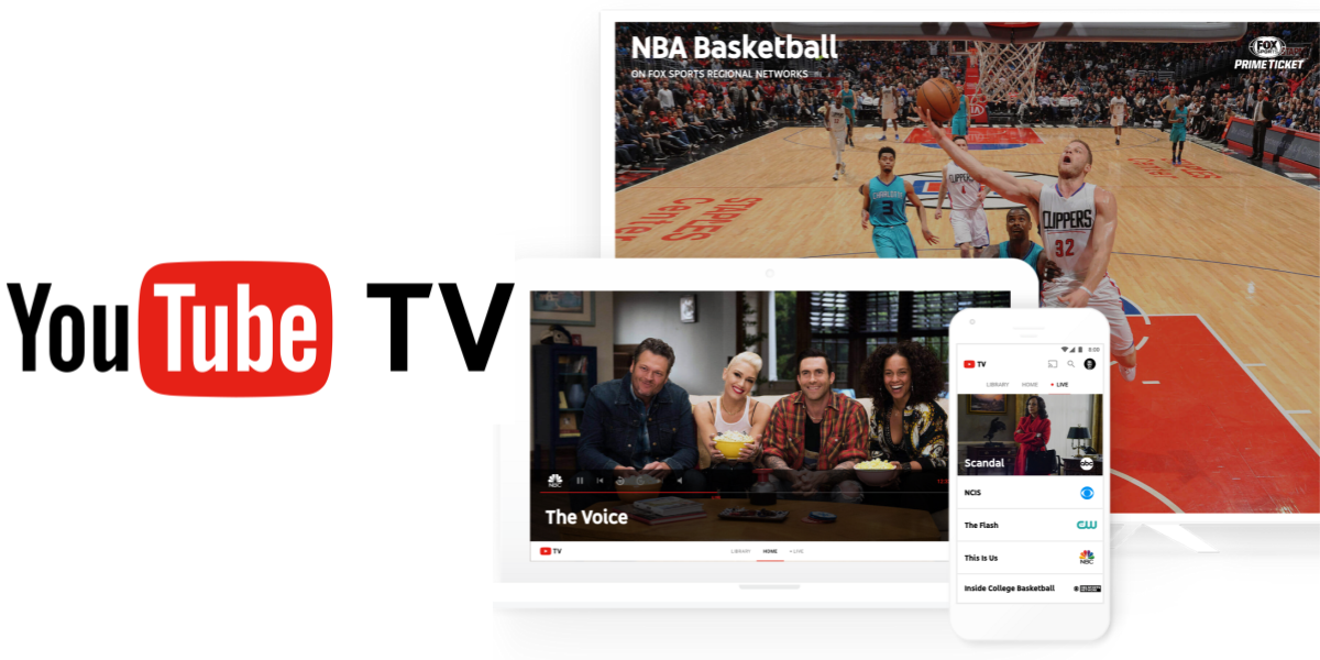 youtube tv on the web features a convenient dark theme