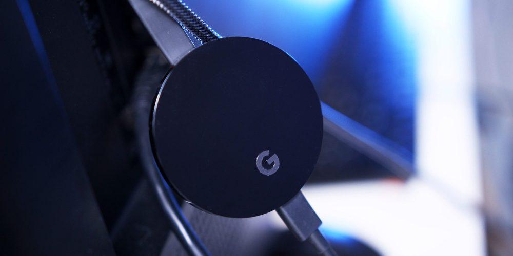 google chromecast ultra streaming dongle