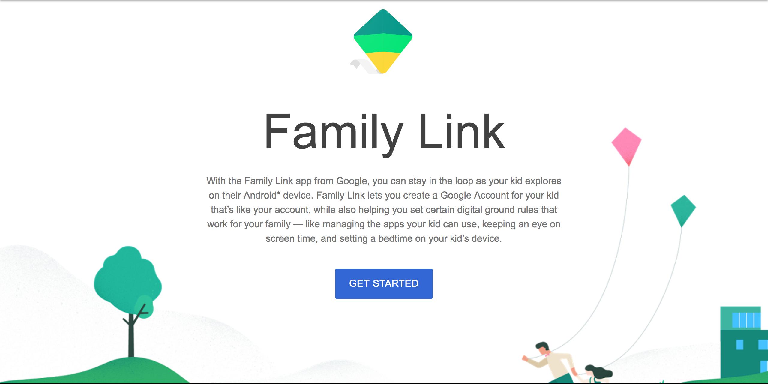 Google family link outside us