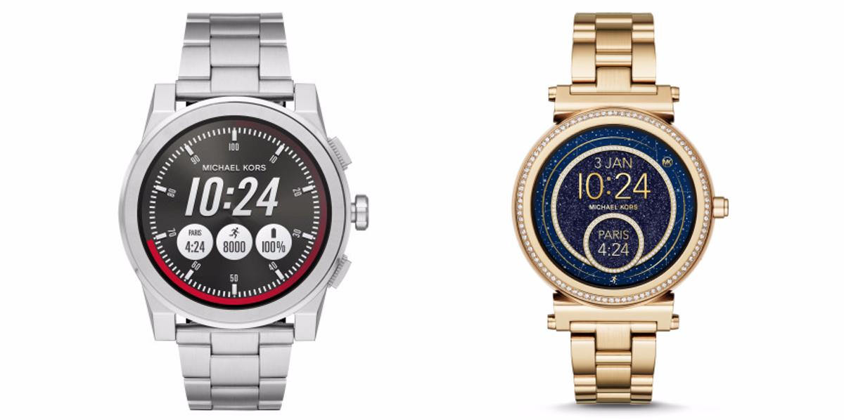 0f98cc91371c The Michael Kors Access Grayson and Sofie Android Wear watches are now  available for  350