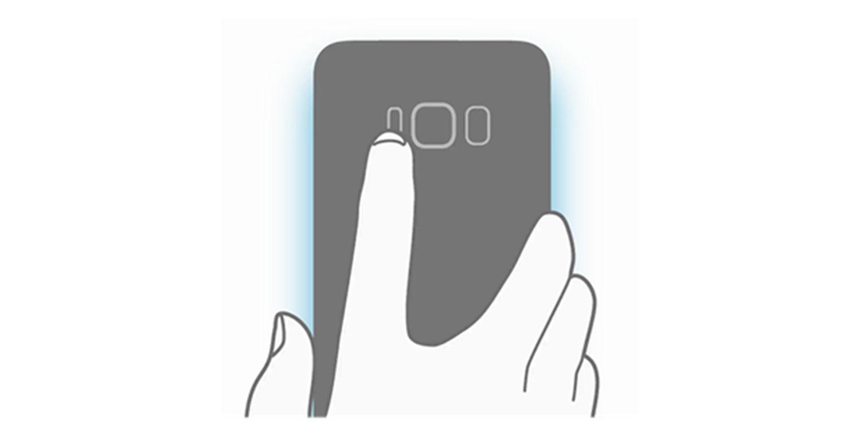 Samsung Galaxy S8 Fingerprint Sensor