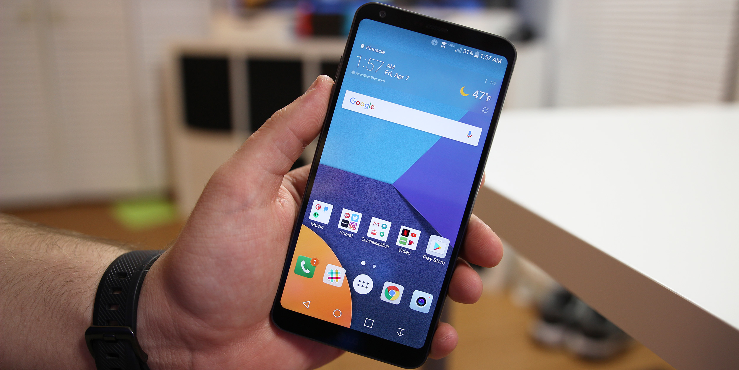 How To Take A Screenshot On The Lg G6 9to5google