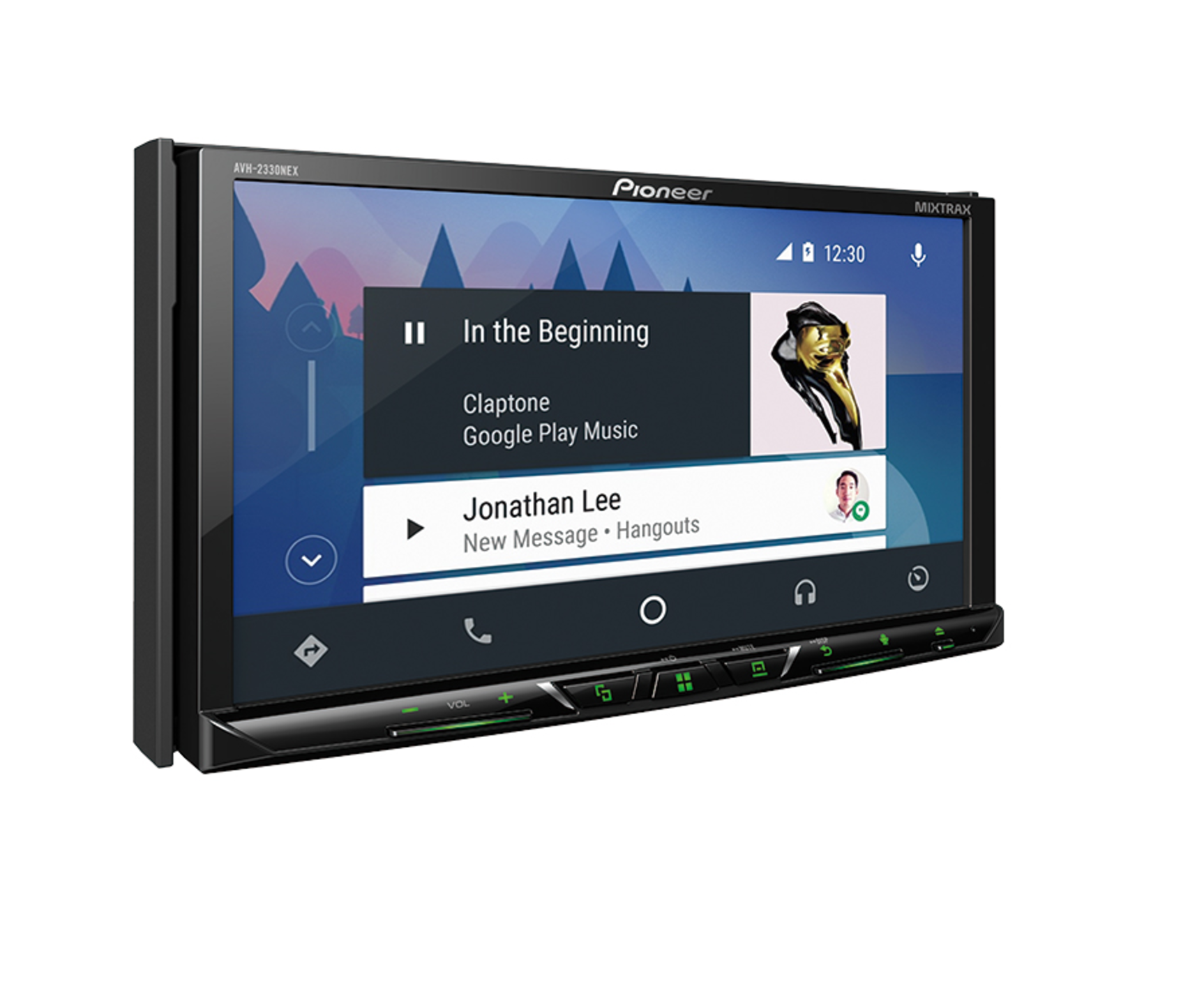 Pioneer Announces New Semi Affordable Android Auto In Dash Units 2005 Jeep Grand Cherokee Double Din Avh 2330nex