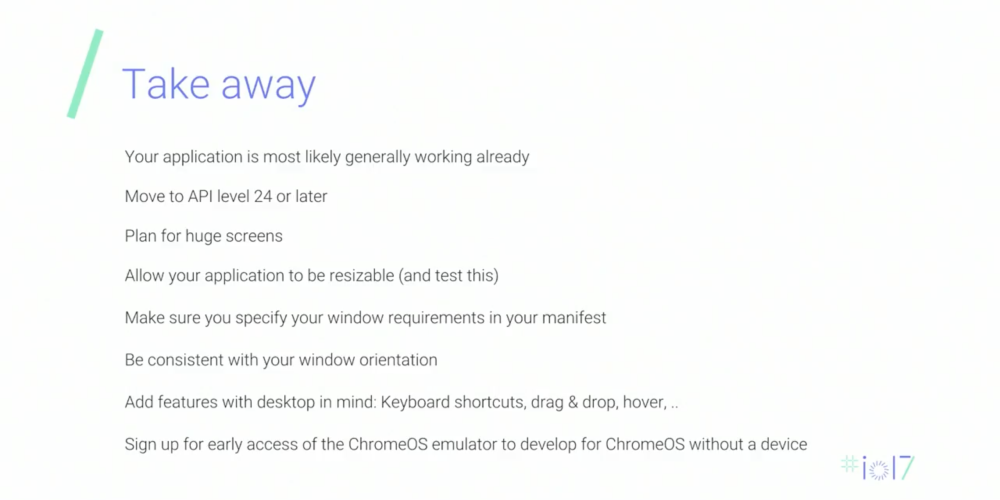 Google working on a Chromebook emulator for devs to test Android apps on large screens