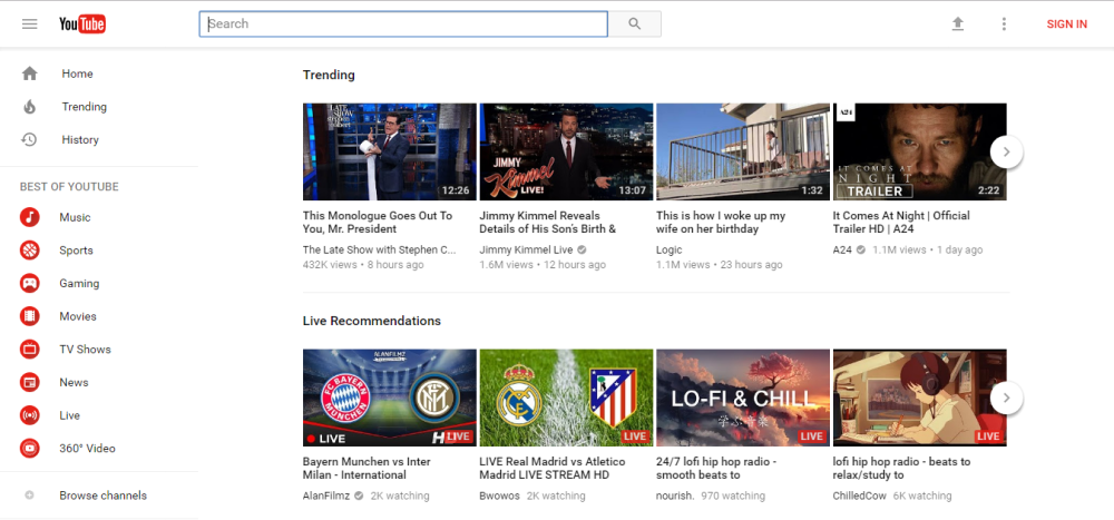 YouTube now lets you officially opt-in to its revamped
