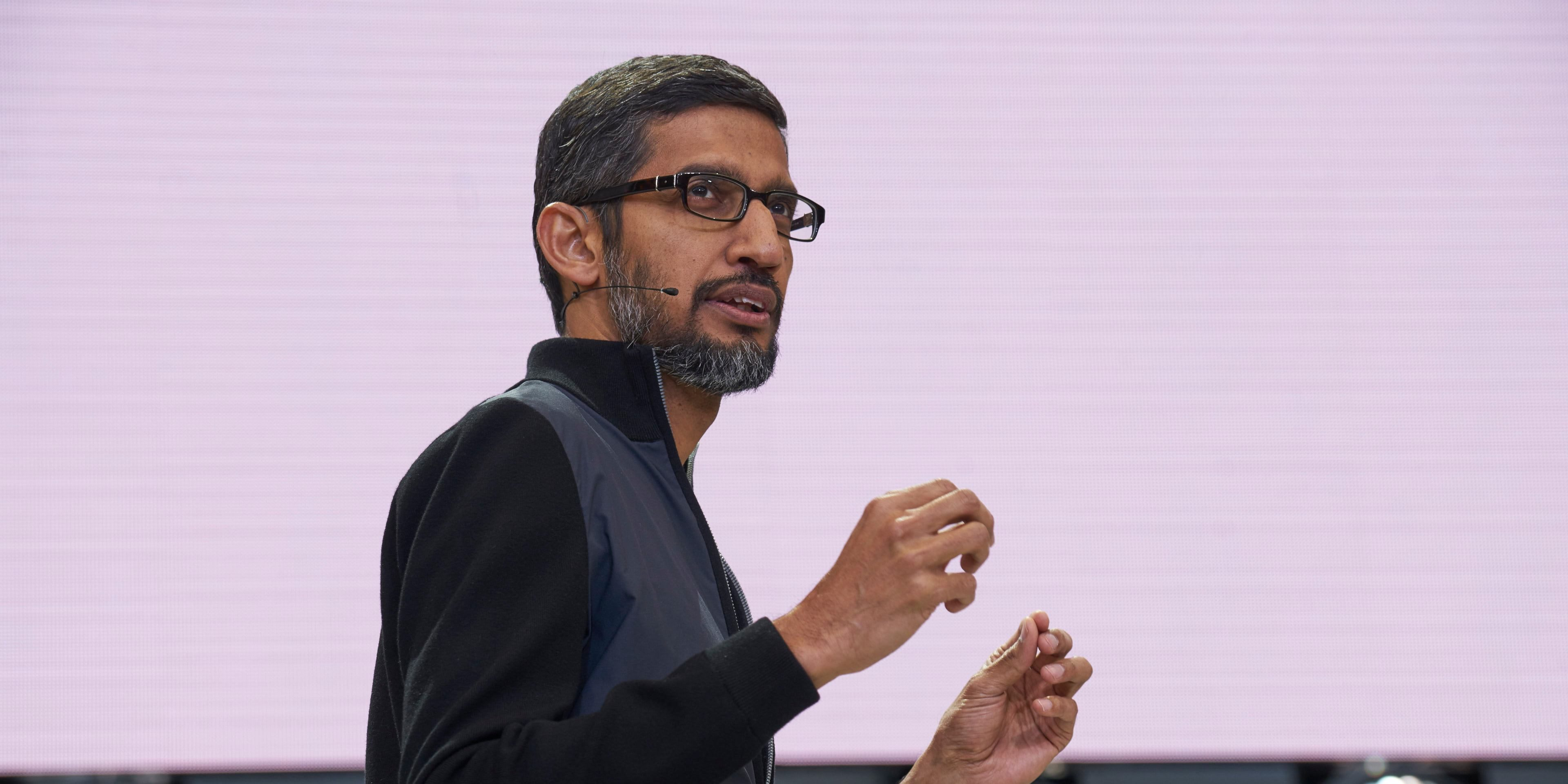 Numbers from Pichai's testimony: 100 employees in Dragonfly, 160 million used Privacy Checkup