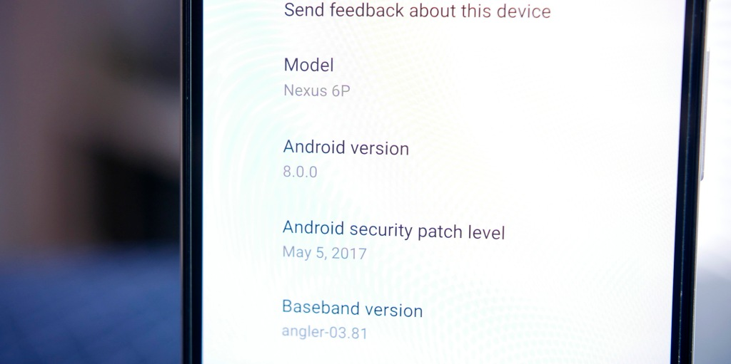 Android O will be version 8 0, confirmed by Android Developer
