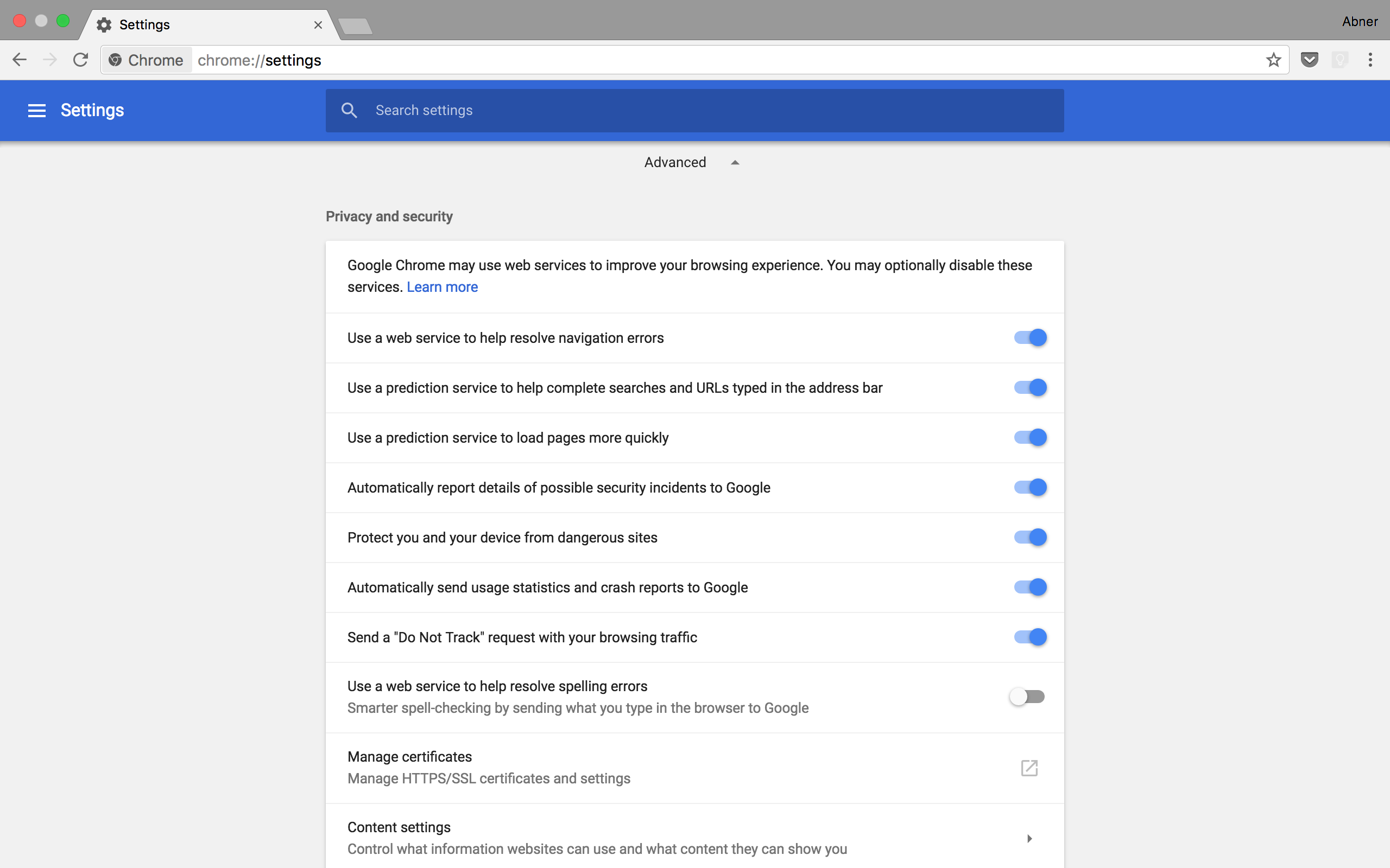 Chrome 59 rolls out to desktops w/ Material settings