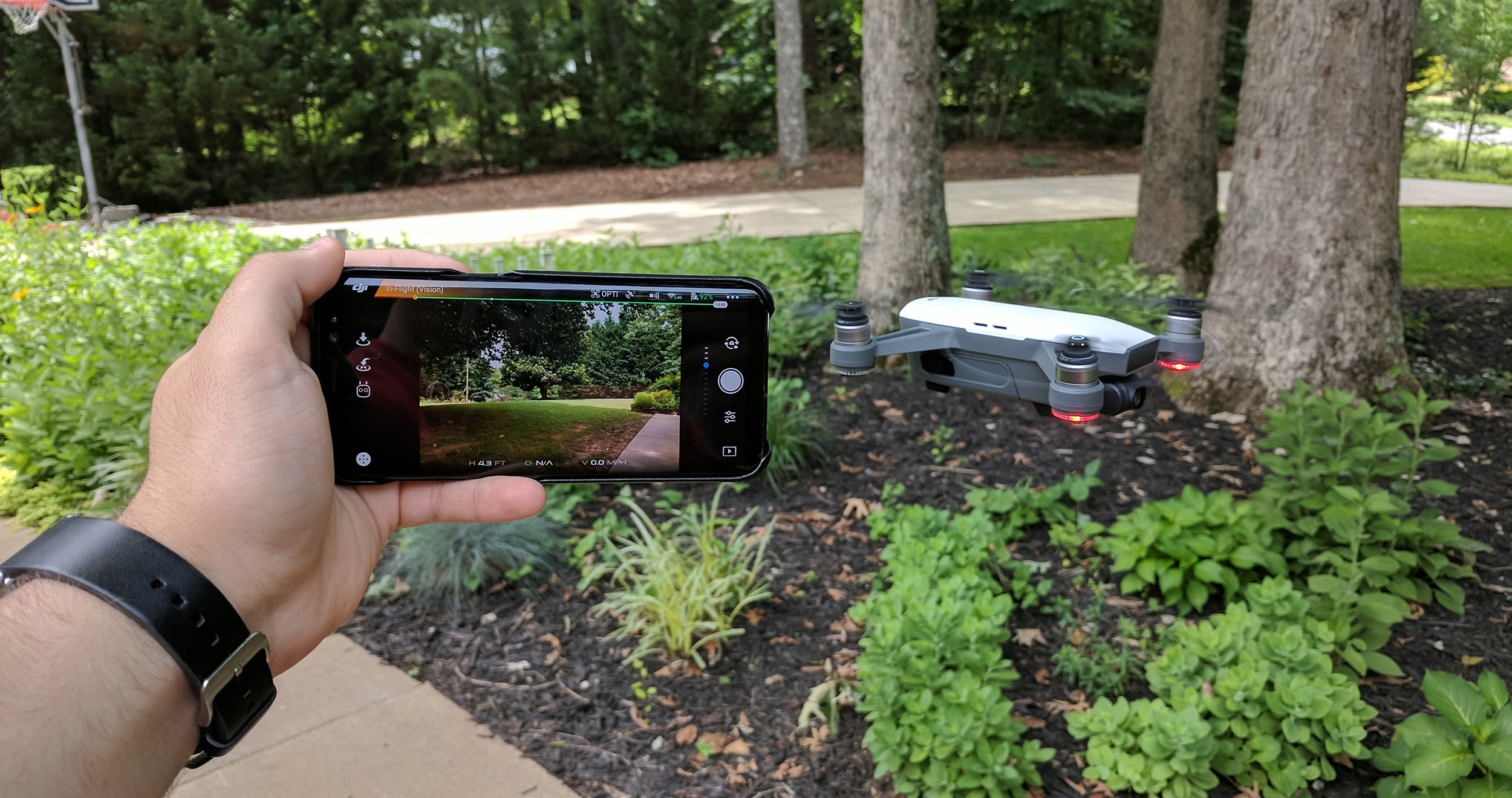Having trouble connecting your DJI Spark to Android? Here's