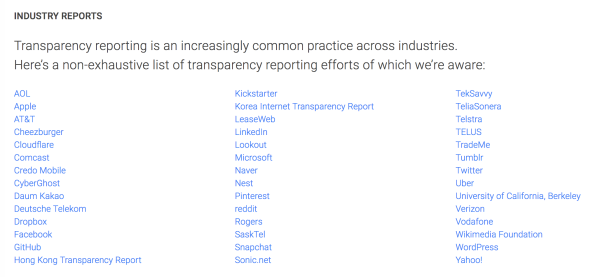 Google redesigns government Transparency Report w/ increased
