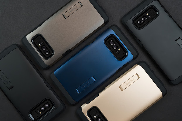 on sale deb2f eeff4 Spigen launches Samsung Galaxy Note 8 cases available now ahead of ...