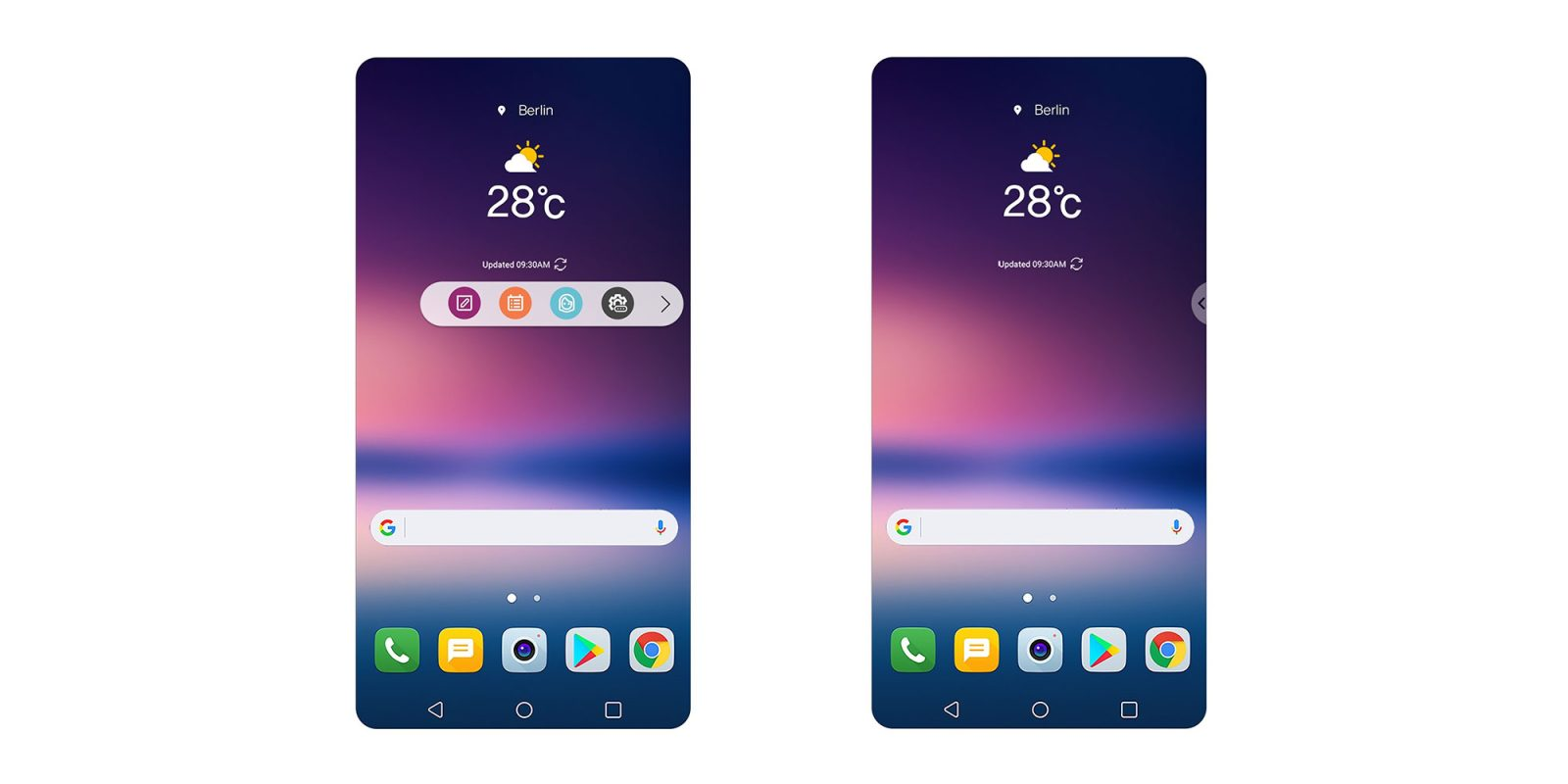 LG V30: How to customize the floating bar - 9to5Google