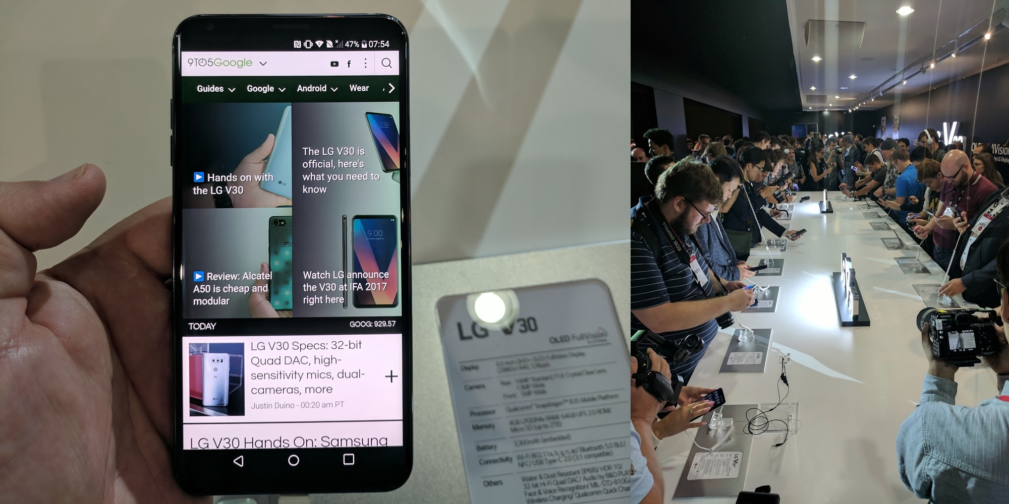 IFA: LG V30 is as close to perfection from a smartphone that