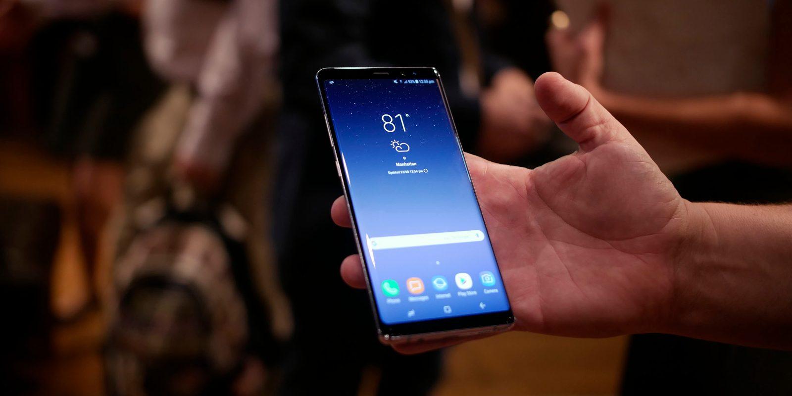 Samsung Galaxy Note 8: Display tests reveal record-breaking