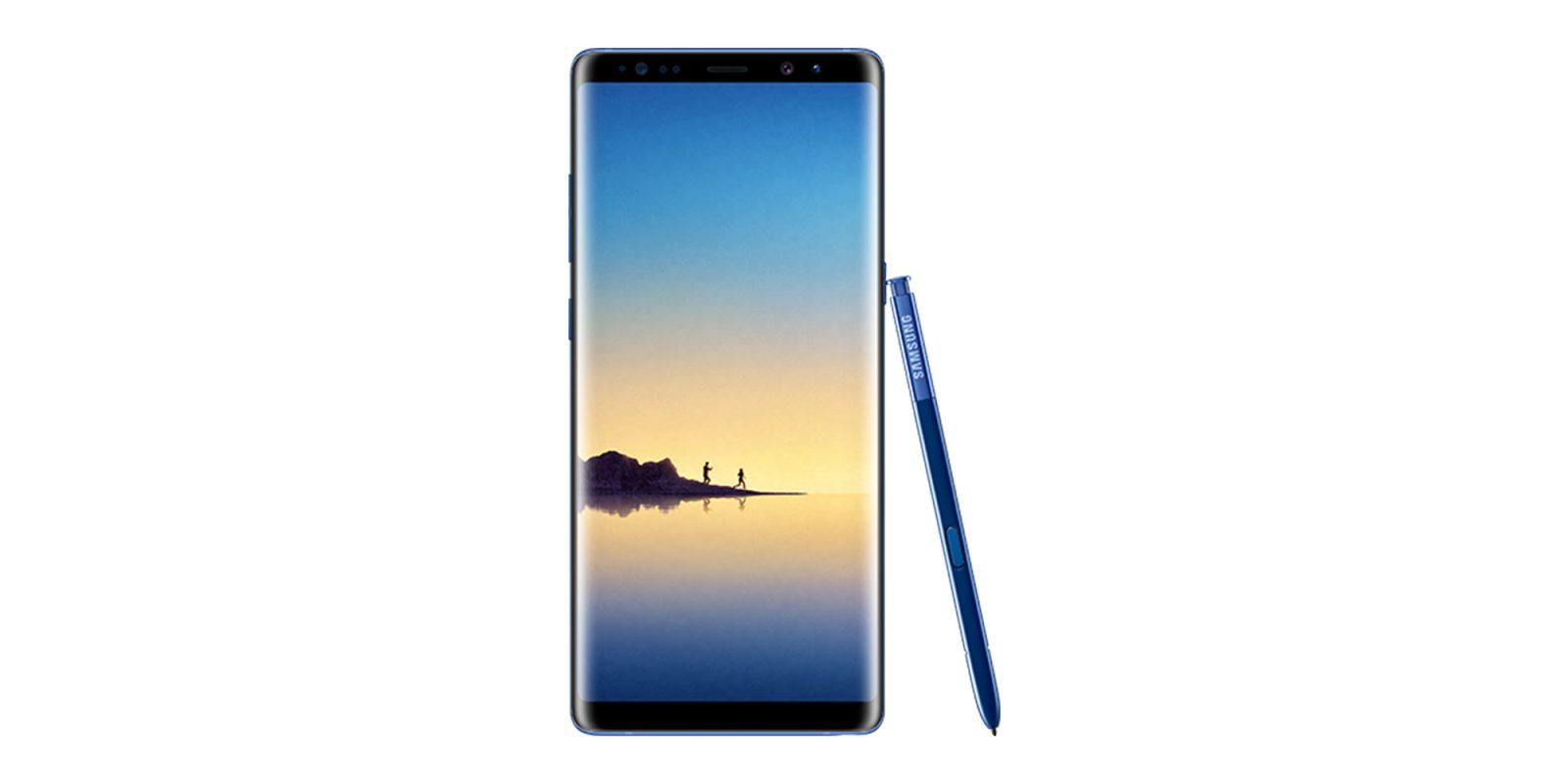 Galaxy Note 8: Samsung leaks handset on its website