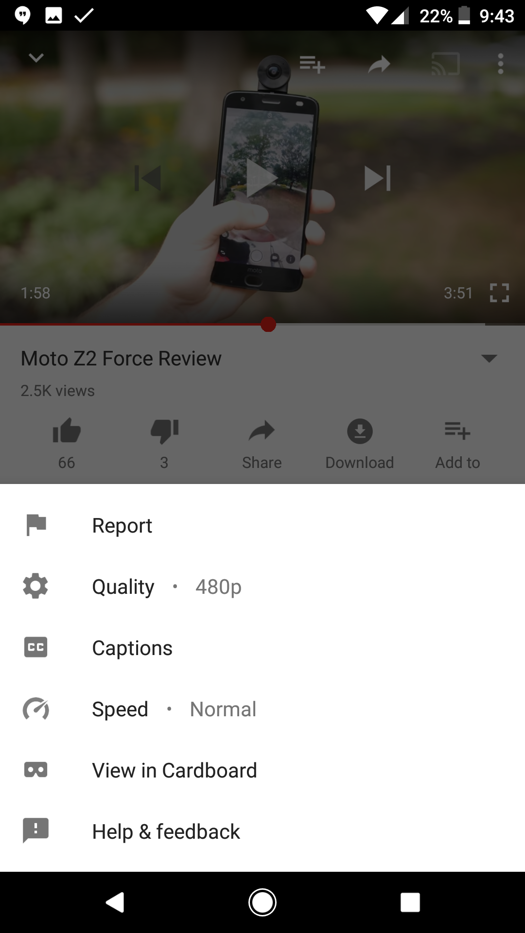 Google is testing speed controls for video playback in the