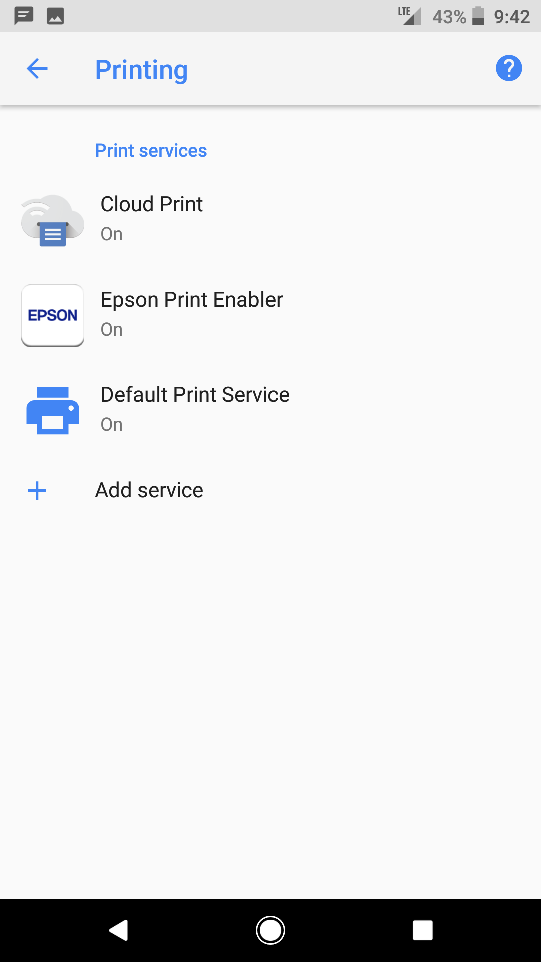 Android 8 0 Oreo's Default Print Service eliminates the need