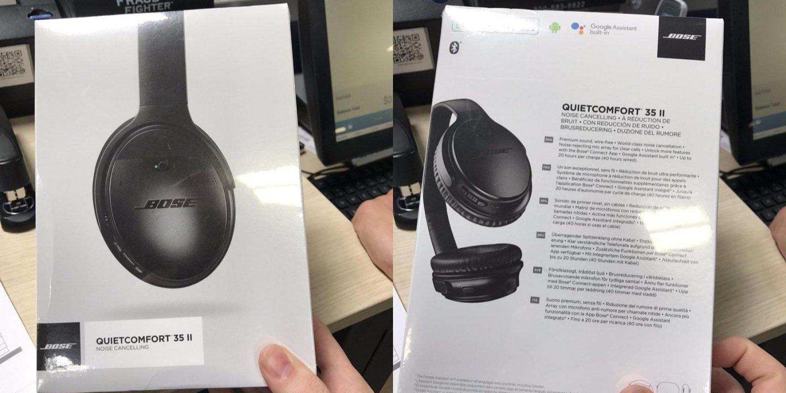 79ab192bed5 Bose QuietComfort 35 II hits Best Buy w/ $349 price for Google Assistant's  'bisto' headphones