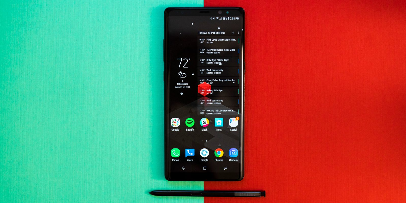 Samsung Galaxy Note 8: How to theme the user interface