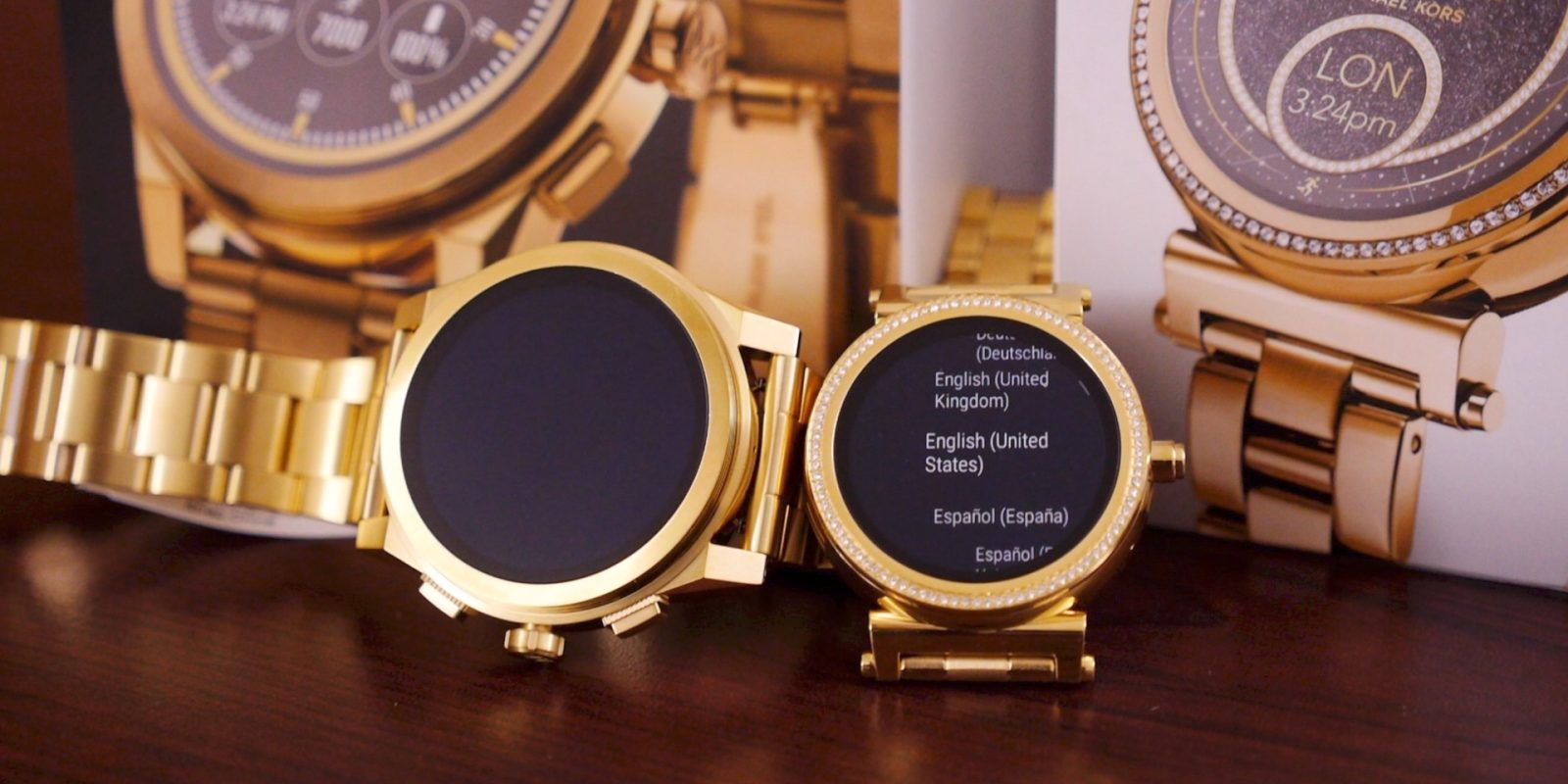 a22b35bbec74 Unboxing the Michael Kors Sofie and Grayson luxury smartwatches  Video