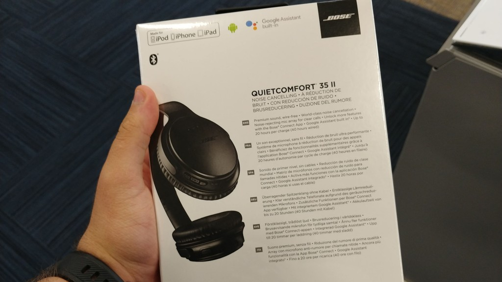 Bose QuietComfort 35 II w/ Google Assistant built-in will