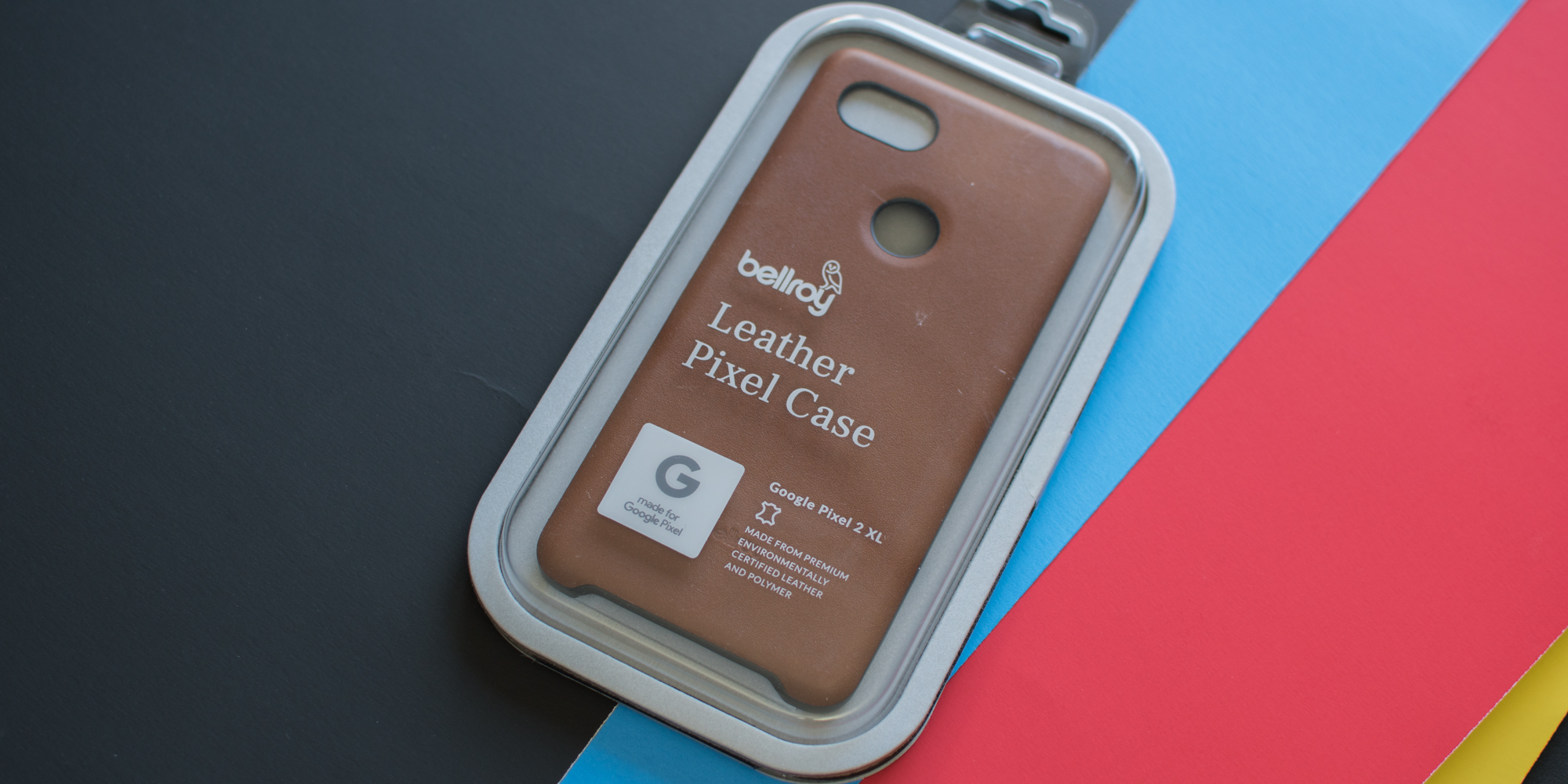 san francisco 84799 1056b Review: Bellroy's Made for Google leather case for the Google Pixel ...