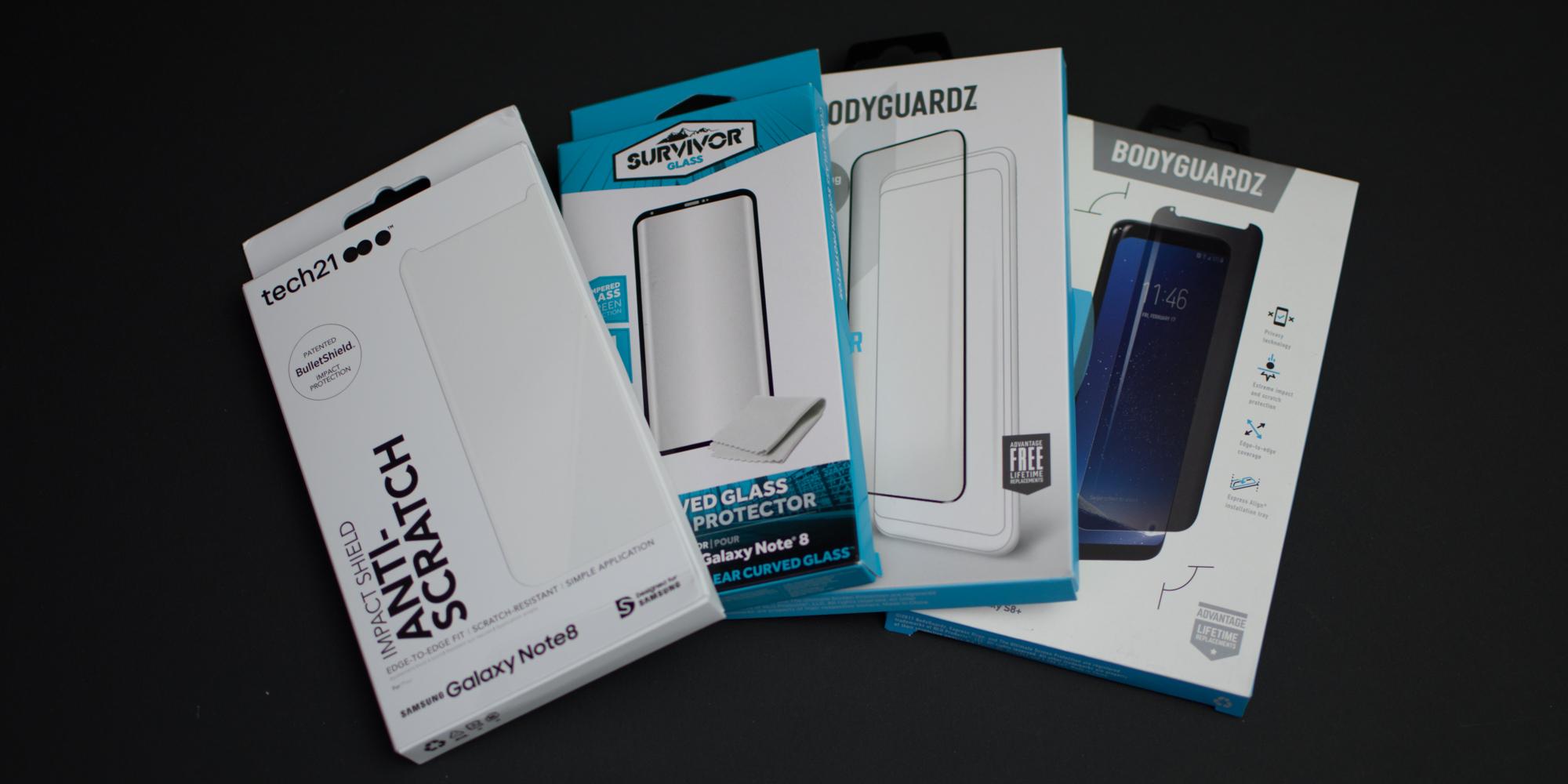 Samsung Galaxy Note 8: Best screen protectors