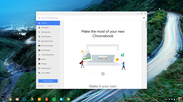 Chrome OS 61 rolling out w/ new Lock Screen, Pixel-like App
