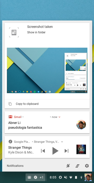 Chrome OS 62 rolling out with Android-style notifications, KRACK Wi