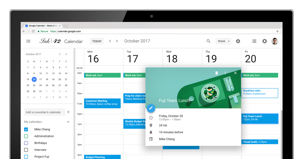 Google Calendar Update Adds Material Design And Power Features To Web Rolling Out Today 9to5google