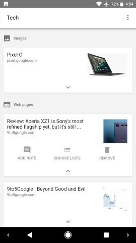 Google app's 'Saved' bookmarks redesigned w/ Collections, Last added
