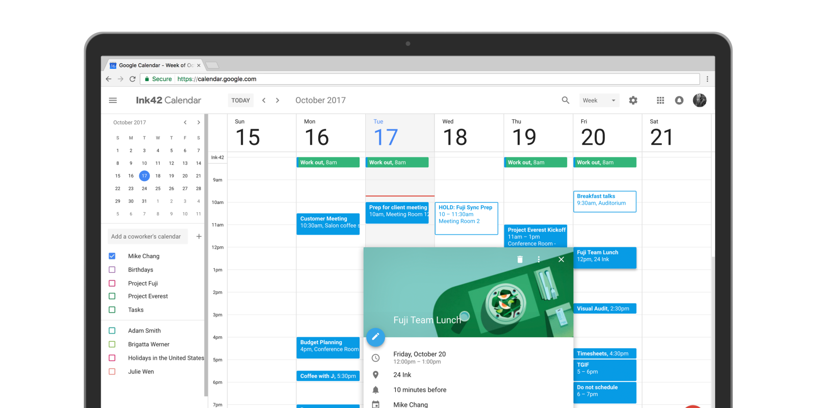 Google Calendar on the web getting offline viewing mode for Workspace customers