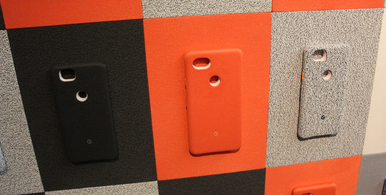 new style ab190 13d45 Closer look at the Google Pixel 2's new Fabric Phone Cases [Gallery ...