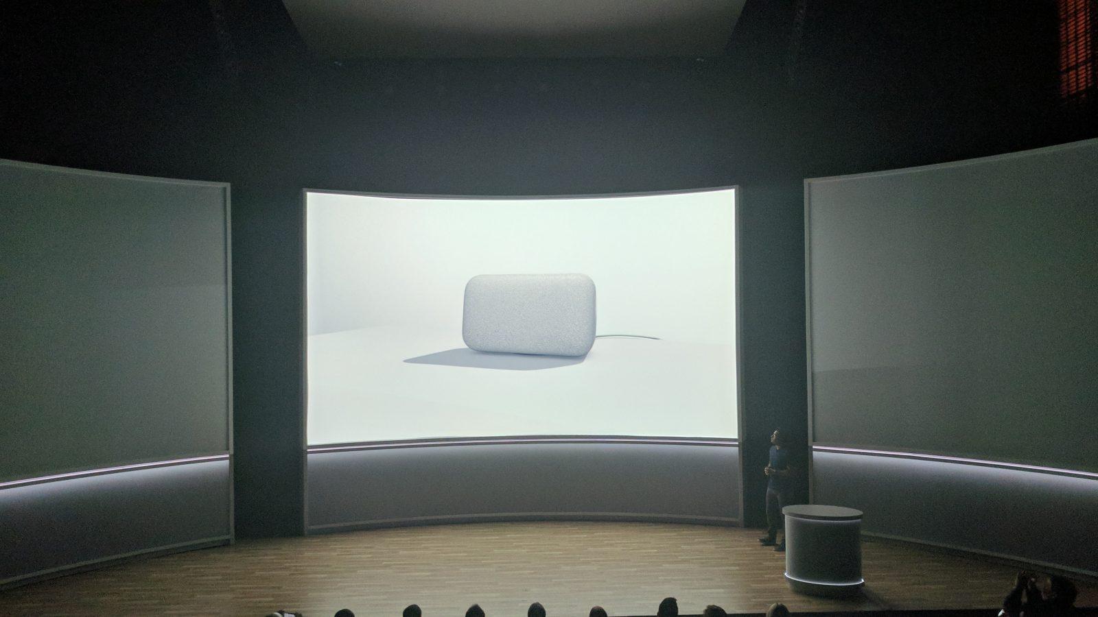 Google Home Max: Assistant smart speaker w/ premium design and ...