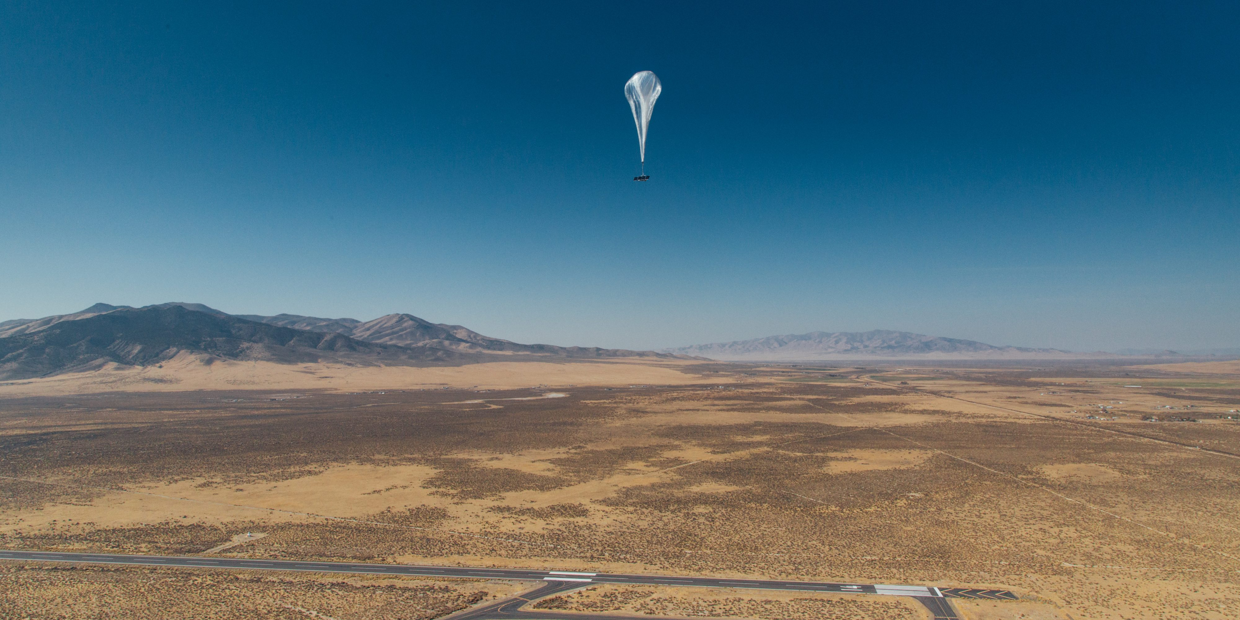 Alphabet's Loon-Ballons sind seit 1 Million Stunden geflogen