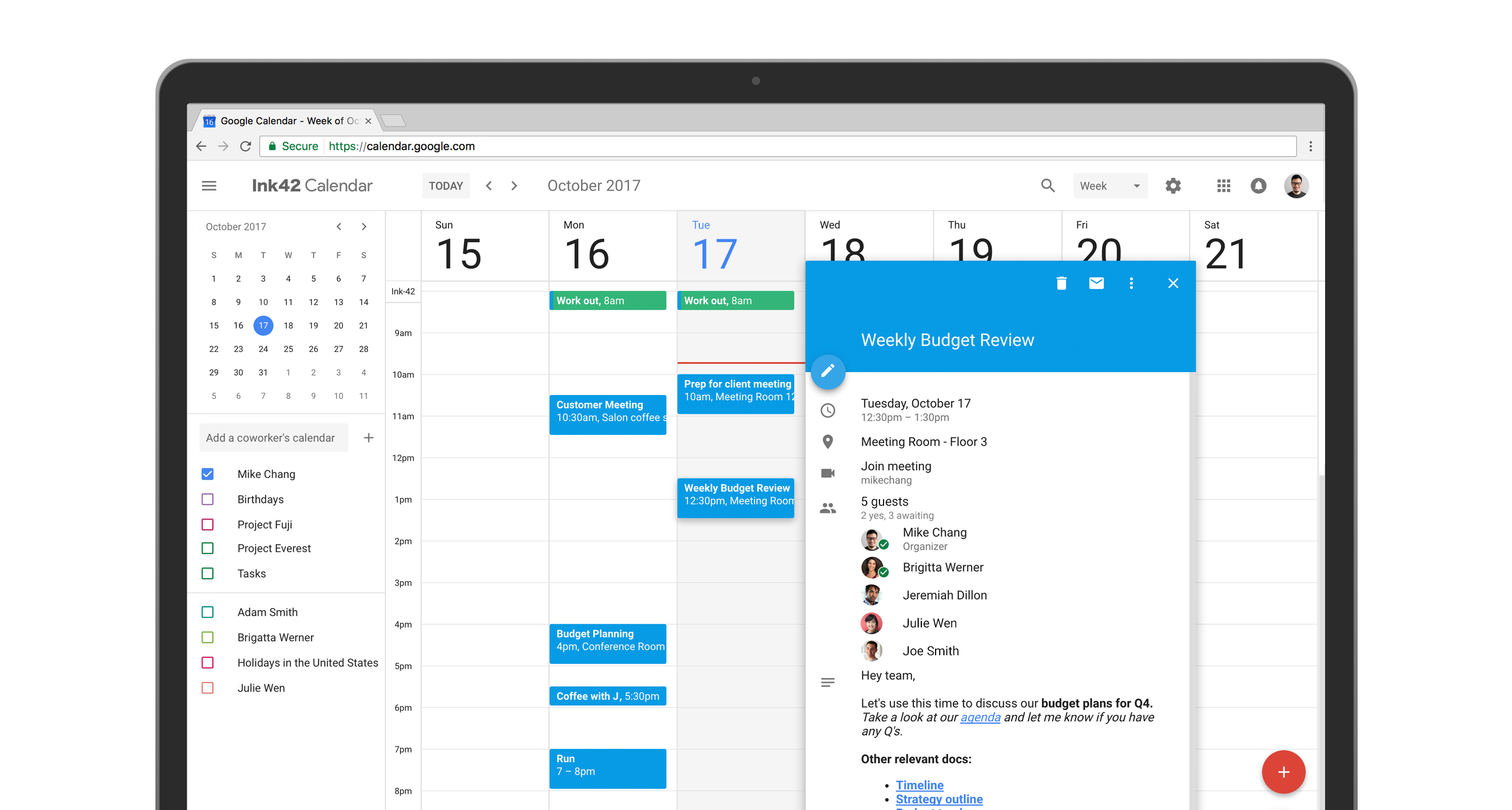 Google Calendar update adds Material Design and power features to