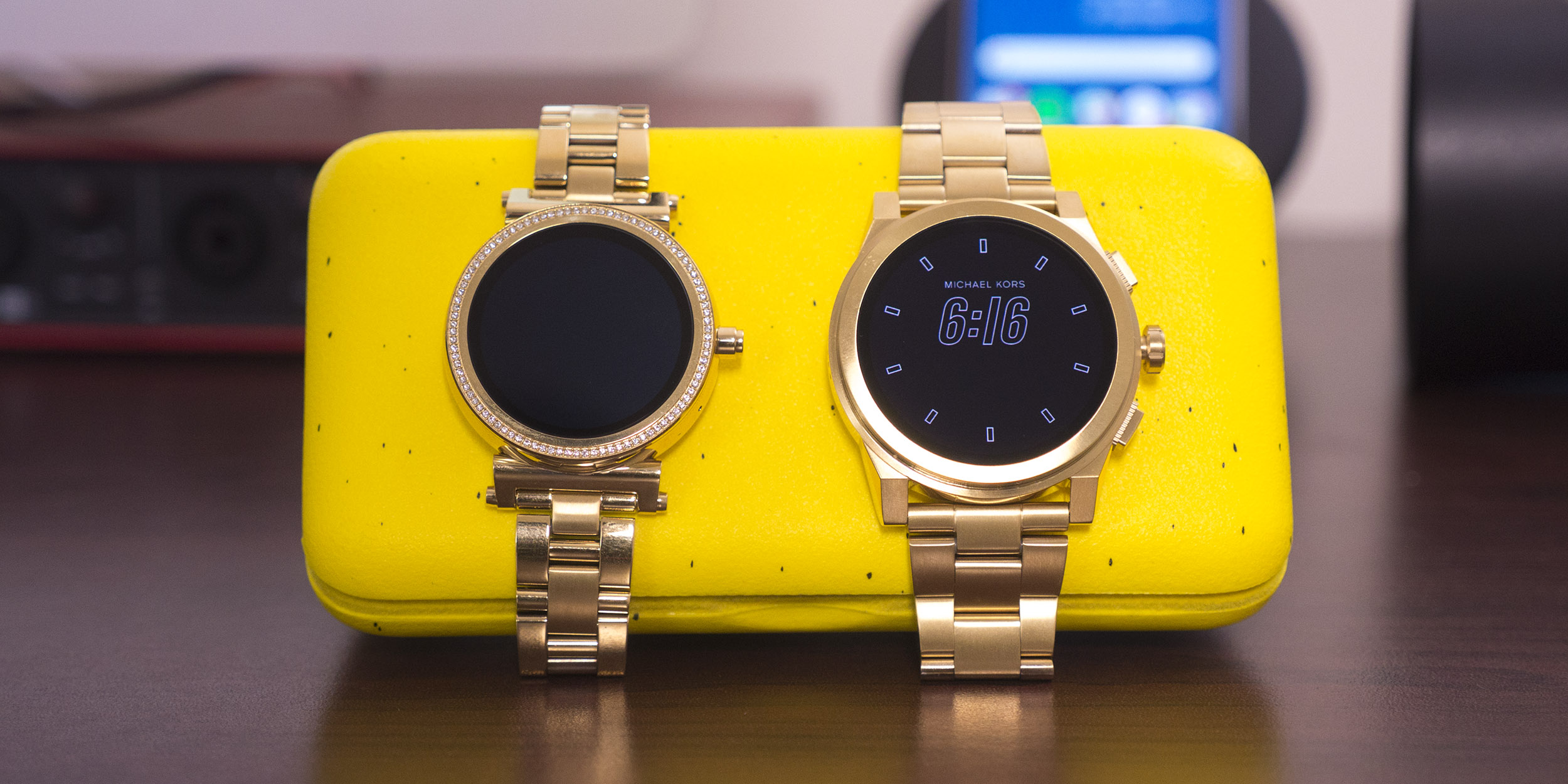 Review: Michael Kors offers 2 beautiful options for Android