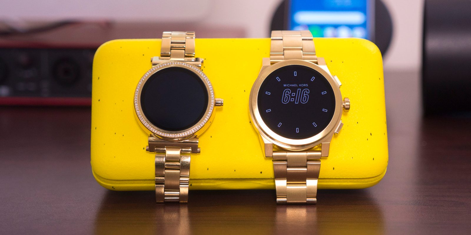0b025293ece5 Review  Michael Kors offers 2 beautiful options for Android Wear holdouts  w  the Access Sofie and Grayson  Video